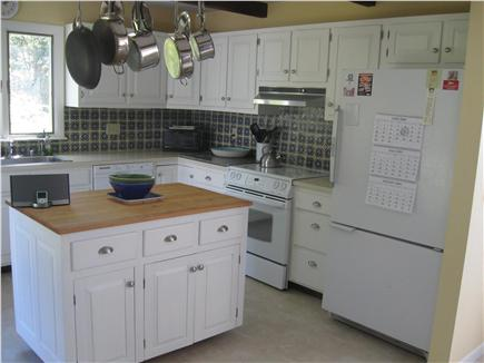 East Orleans Cape Cod vacation rental - Kitchen with some water views.
