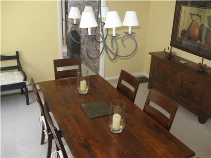 East Orleans Cape Cod vacation rental - Dining Room with some water views.