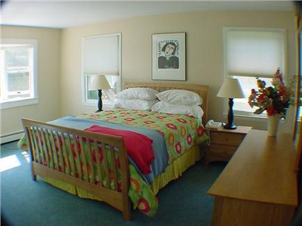 East Orleans Cape Cod vacation rental - Master Bedroom with private bath and some water views.