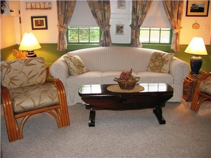 Dennisport Cape Cod vacation rental - Comfortable Living Room