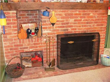 Dennisport Cape Cod vacation rental - Fireplace