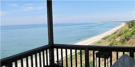 Truro Cape Cod vacation rental - View to P'Town from Deck