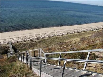 Truro Cape Cod vacation rental - Stairs to Beach from House