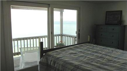 Truro Cape Cod vacation rental - Master bedroon sliders to deck
