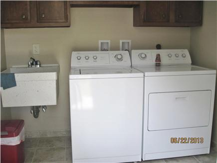 Harwich Cape Cod vacation rental - Laundry