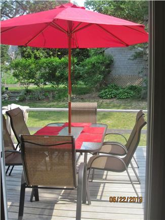 Harwich Cape Cod vacation rental - Deck