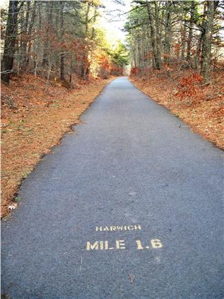 Harwich Cape Cod vacation rental - Bike Trail 300 feet away