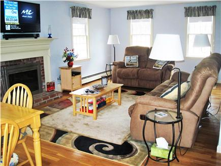 Harwich Cape Cod vacation rental - Living room side view