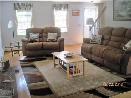 Harwich Cape Cod vacation rental - Living room front view