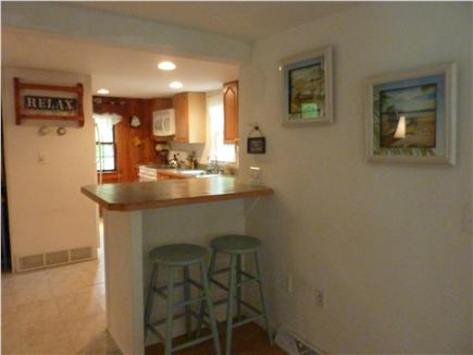 West Harwich Cape Cod vacation rental - Breakfast Nook with Four Stools