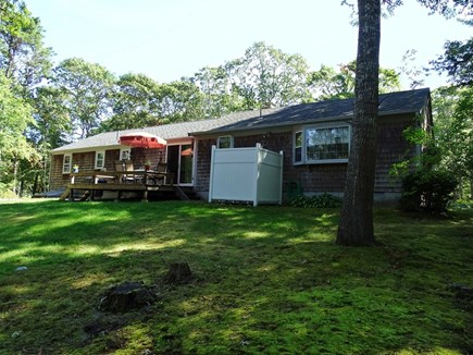 West Yarmouth Cape Cod vacation rental - Large backyard with privacy, outdoor shower