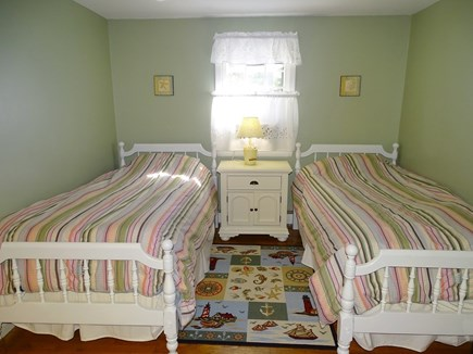 West Yarmouth Cape Cod vacation rental - Twin bedroom with TV and A/C