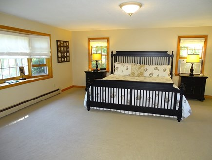 West Yarmouth Cape Cod vacation rental - Spacious 20x20 King bed Master with TV and A/C