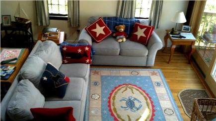 Eastham Cape Cod vacation rental - Comfortable living area