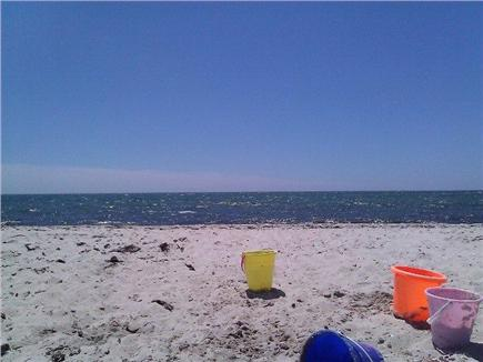 West Dennis Cape Cod vacation rental - Private neighborhood beach looking at Nantucket Sound