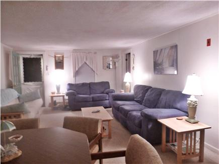 West Dennis Cape Cod vacation rental - Lots of comfortable seating on sofa, love seat, and futon.