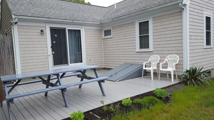 Yarmouth Cape Cod vacation rental - New back deck and completely re-shingled house exterior!