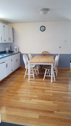 Yarmouth Cape Cod vacation rental - Delightful Eat-in kitchen easily accommodates 6 people