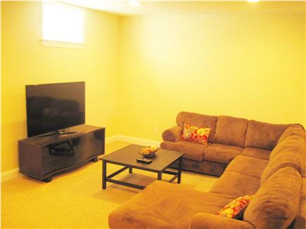 Chatham Cape Cod vacation rental - Finished lower entertainment room
