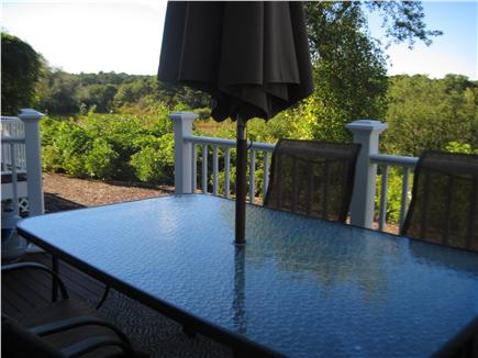 Chatham Cape Cod vacation rental - Back Deck and view of Perch Pond