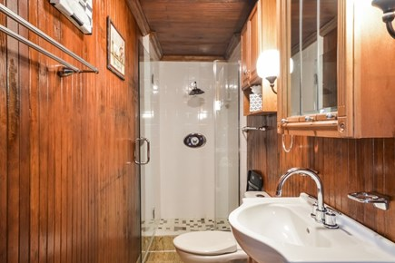 Falmouth Cape Cod vacation rental - Renovated bathroom with beautiful finishes