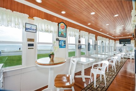 Falmouth Cape Cod vacation rental - Enclosed porch with ocean views
