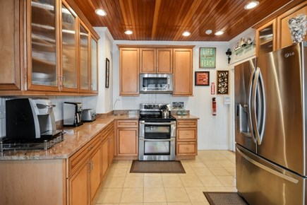 Falmouth Cape Cod vacation rental - Renovated kitchen with stainless steel appliances