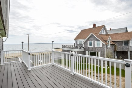Falmouth Cape Cod vacation rental - Gorgeous deck that overlooks the Vineyard Sound