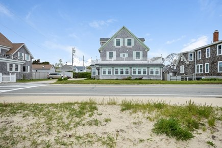 Falmouth Cape Cod vacation rental - Front view of this gorgeous Falmouth home from the beach
