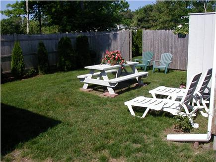 West Yarmouth Cape Cod vacation rental - Private Yard