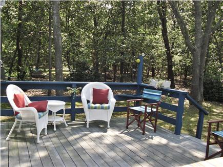 eastham Cape Cod vacation rental - Wiley Park Preserve, back porch, Eastham vacation rental ID 23359