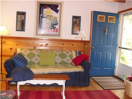 eastham Cape Cod vacation rental - Living room entrance and sitting area