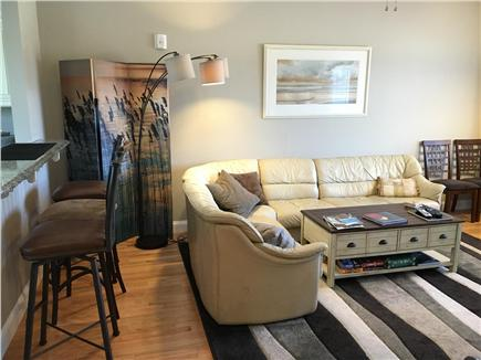 West Harwich Cape Cod vacation rental - Living room from entrance to second floor