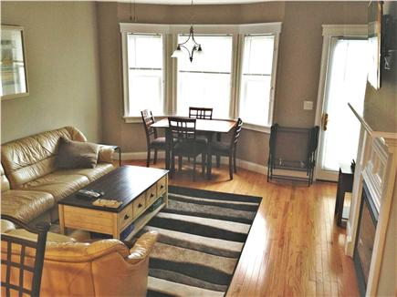 West Harwich Cape Cod vacation rental - View of living area from kitchen