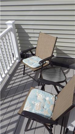 West Harwich Cape Cod vacation rental - View of second floor balcony