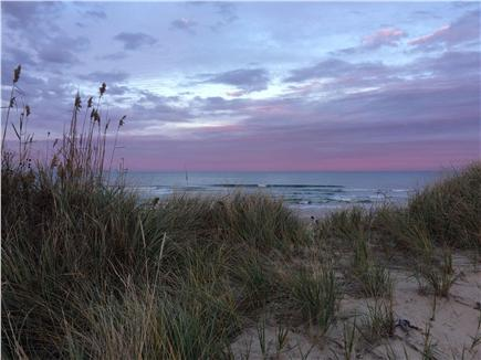 Eastham Cape Cod vacation rental - An evening view at Coast Guard Beach