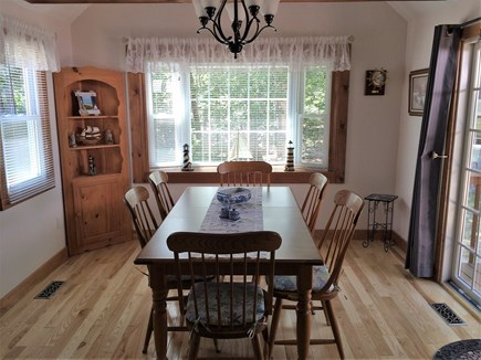 Eastham Cape Cod vacation rental - Bright and spacious dining area for your family meals