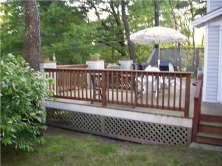 Orleans Cape Cod vacation rental - Outside Deck