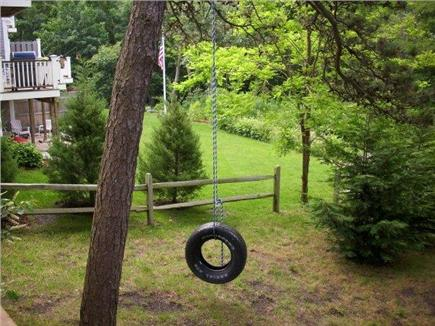 Orleans Cape Cod vacation rental - Tire Swing