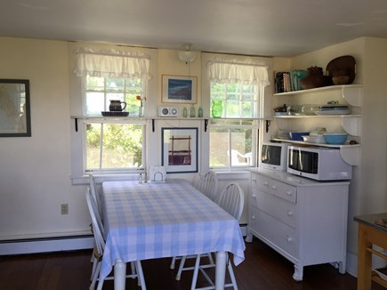 Indian Neck / Wellfleet Cape Cod vacation rental - Kitchen eating area