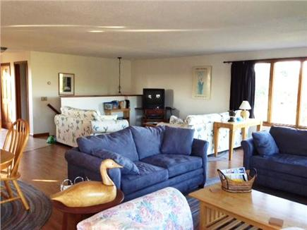 Truro Cape Cod vacation rental - TV area