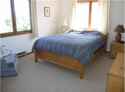 Truro Cape Cod vacation rental - Back bedroom, 1 queen bed