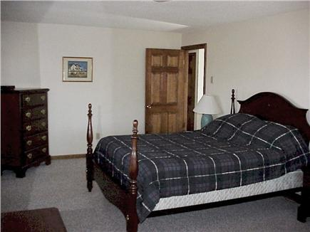 Truro Cape Cod vacation rental - Master bedroom, 1 queen bed, private bath