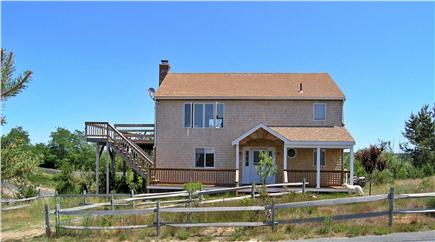 Truro Cape Cod vacation rental - Front view of house