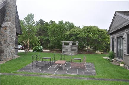 Truro Cape Cod vacation rental - Arcadia - Outdoor Patio Between the Houses