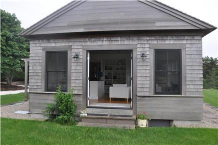 Truro Cape Cod vacation rental - Arcadia - Guest House Side Entryway