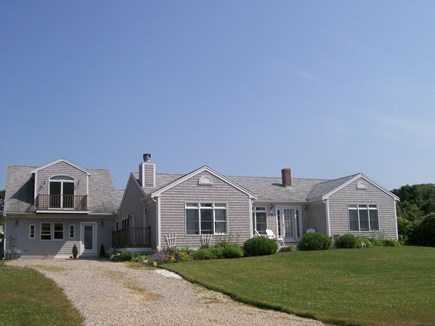 North Falmouth Cape Cod vacation rental - Front of house facing ocean