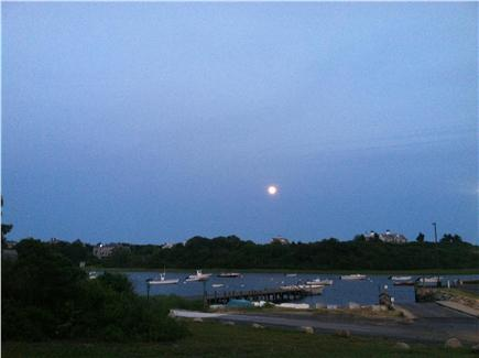 Chatham Cape Cod vacation rental - Full moon over Oyster Pond River