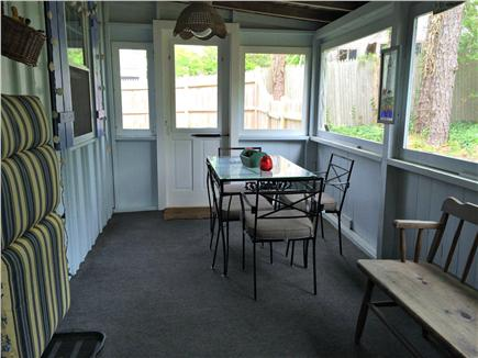 Chatham Cape Cod vacation rental - Screened porch for relaxing or outdoor dining