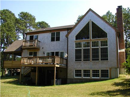 Wellfleet Cape Cod vacation rental - Two outdoor porches & one large screen porch for family gathering
